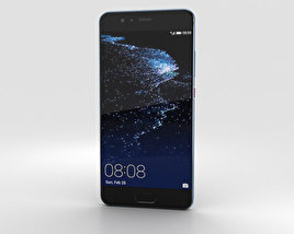 3D model of Huawei P10 Plus Dazzling Blue