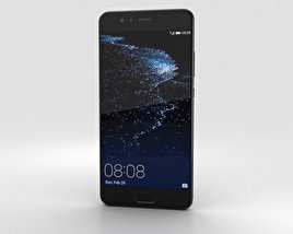 3D model of Huawei P10 Plus Graphite Black