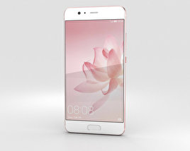 3D model of Huawei P10 Plus Rose Gold