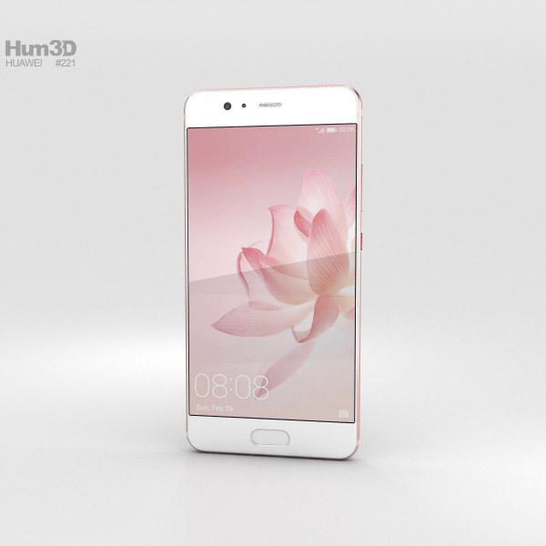 Huawei P10 Plus Rose Gold 3D model