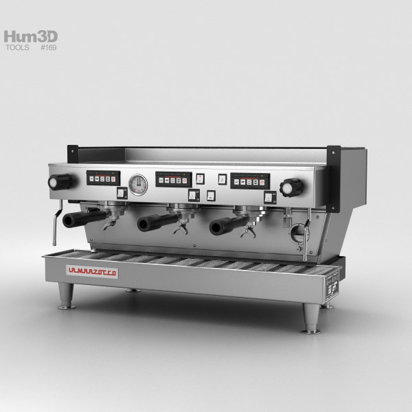 3D model of La Marzocco Espresso Machine
