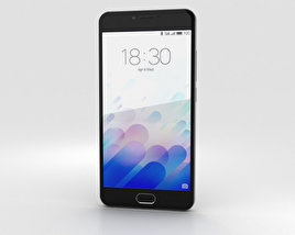Meizu M3 Gray 3D model