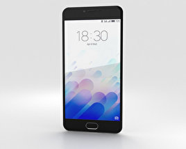 3D model of Meizu M3 White