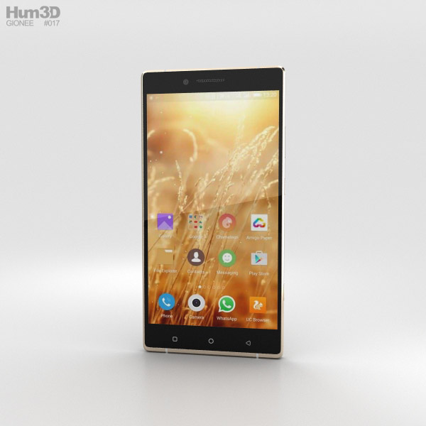 Gionee Elife E8 Gold 3D model