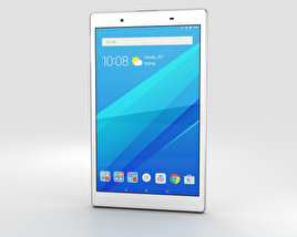 3D model of Lenovo Tab 4 8 White