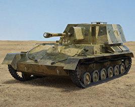 3D model of SU-76