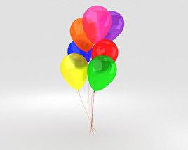 3D model of Balloons