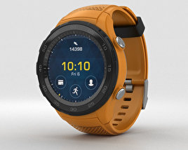 3D model of Huawei Watch 2 Dynamic Orange