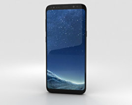 3D model of Samsung Galaxy S8 Black Sky