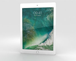 Apple iPad 9.7-inch Cellular Silver 3D model