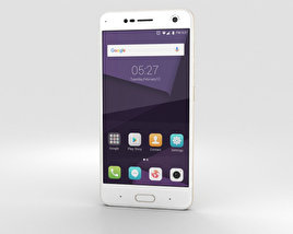 3D model of ZTE Blade V8 Champagne Gold