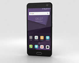 3D model of ZTE Blade V8 Dark Grey