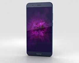 Huawei Honor 8 Pro Blue 3D model