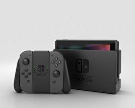 3D model of Nintendo Switch