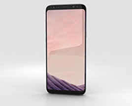 3D model of Samsung Galaxy S8 Orchid Gray