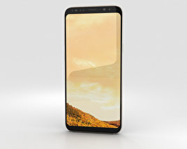 3D model of Samsung Galaxy S8 Plus Maple Gold