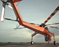 Sikorsky S-64 Skycrane 3d model
