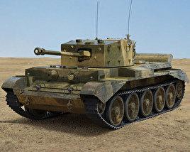 3D model of Cromwell tank