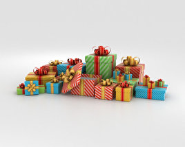 3D model of Gift Boxes