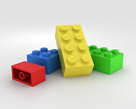 3D model of Lego Brick