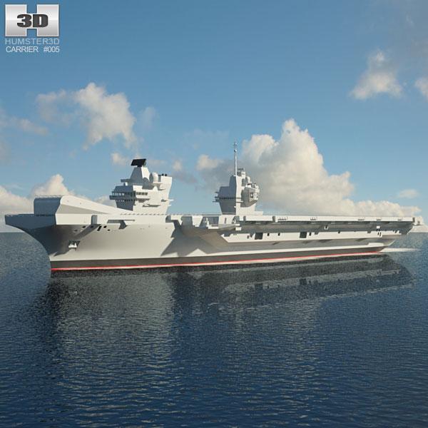 HMS Queen Elizabeth 3D model