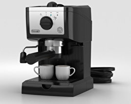 3D model of DeLonghi Espresso Machine