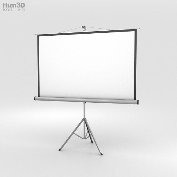 3D model of Projector Screen