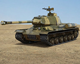 3D model of IS-2