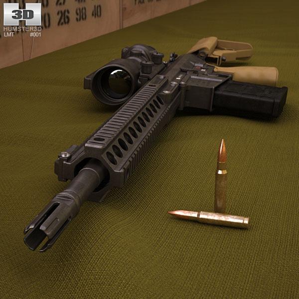 LMT L129A1 3D model