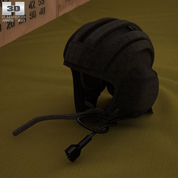 3D model of Soviet Tank Summer Helmet