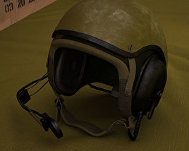 3D model of US Tank Helmet