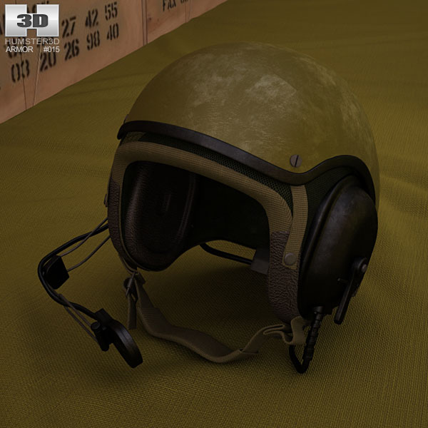 3D model of US Tank Helmet