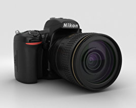 3D model of Nikon D750