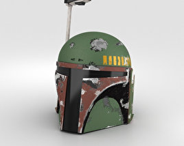 3D model of Boba Fett Helmet