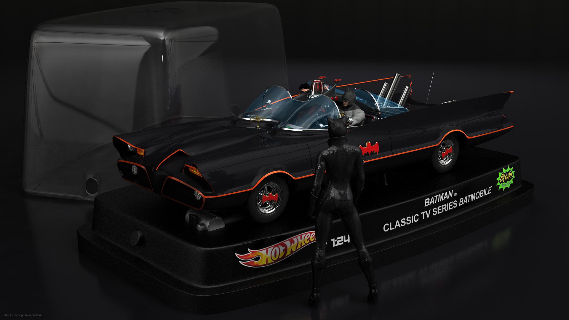 Toys Superheros 3d art