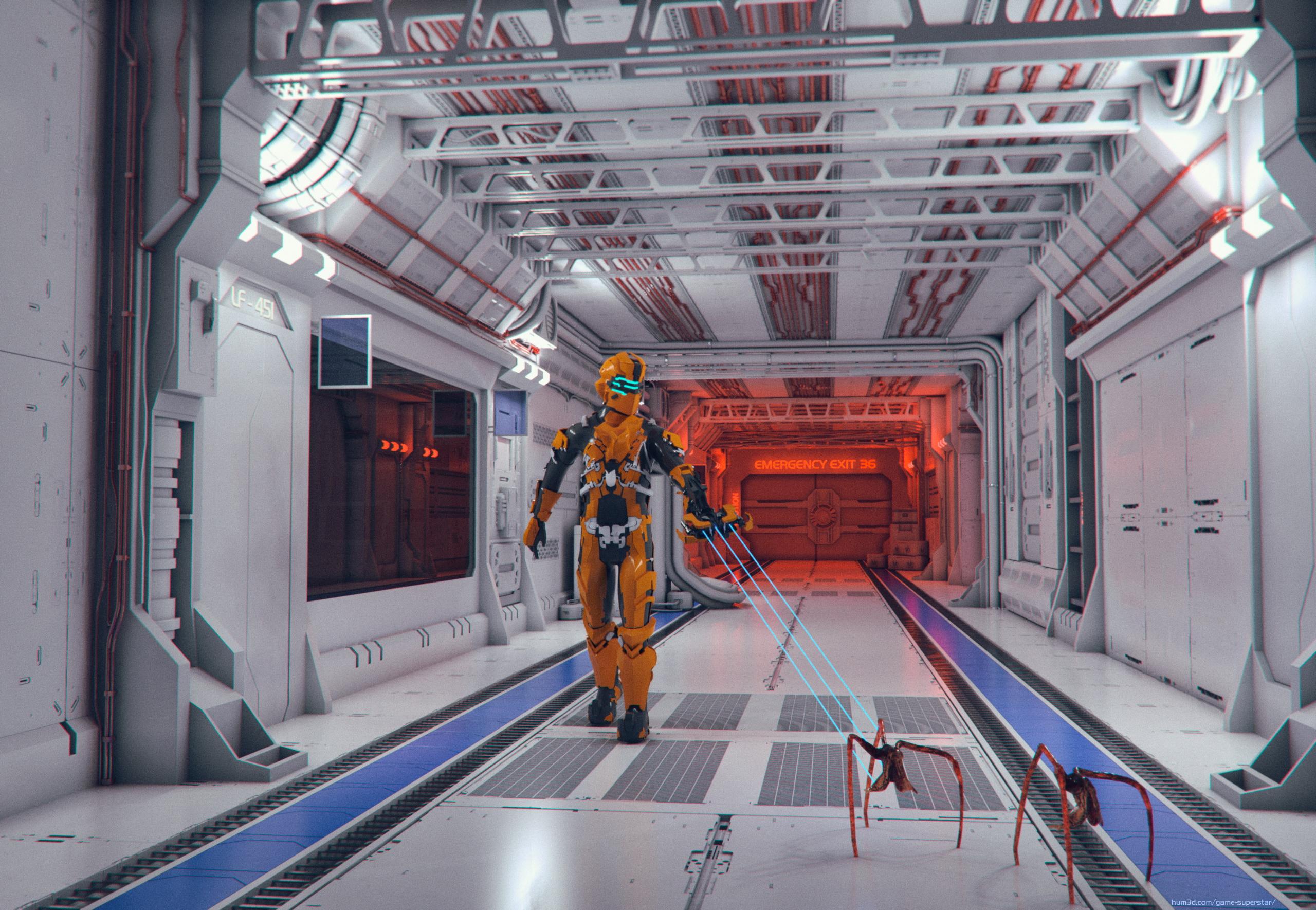 Pest Control - Dead Space 3d art