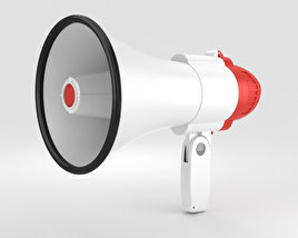 3D model of Megaphone
