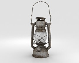3D model of Oil Lamp