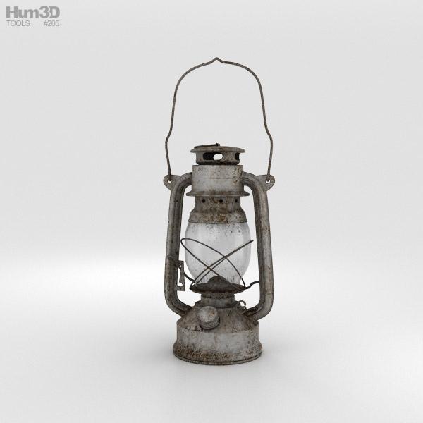 3D model of Oil Lamp