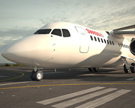 3D model of British Aerospace 146