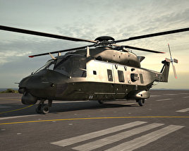 3D model of NHIndustries NH90
