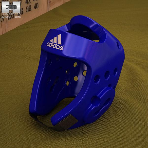 3D model of Adidas Taekwondo Head Gear