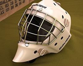 Hockey Goal Mask 3D model