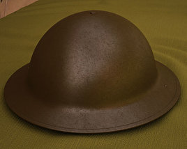 3D model of Brodie Helmet