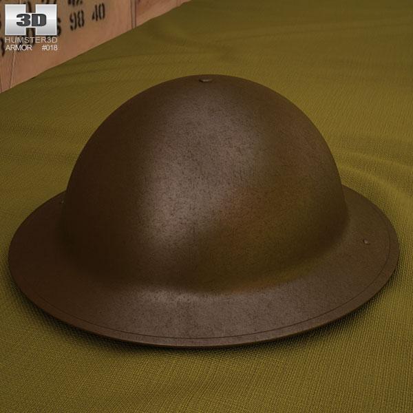 3D model of Brodie Helmet