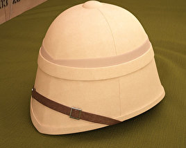 3D model of Pith Helmet