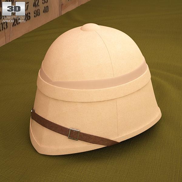 3D model of Pith Helmet