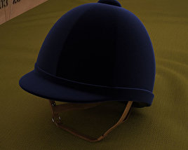 3D model of Riding Helmet