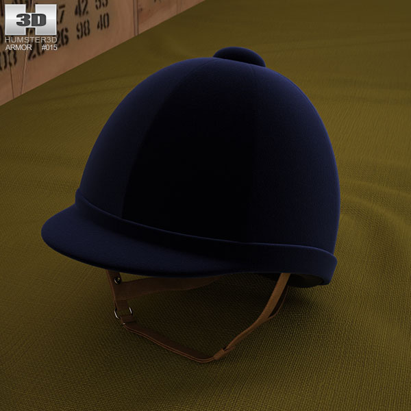 Riding Helmet 3D model