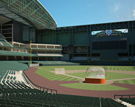 3D model of Chase Field